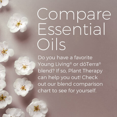 Do you have a favorite Young Living® or dōTerra® blend? If so, Plant Therapy can help you out! Check out our blend comparison chart to see for yourself