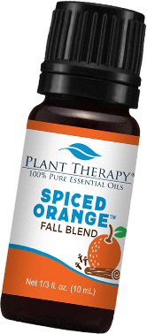 spiced orange fall blend oil