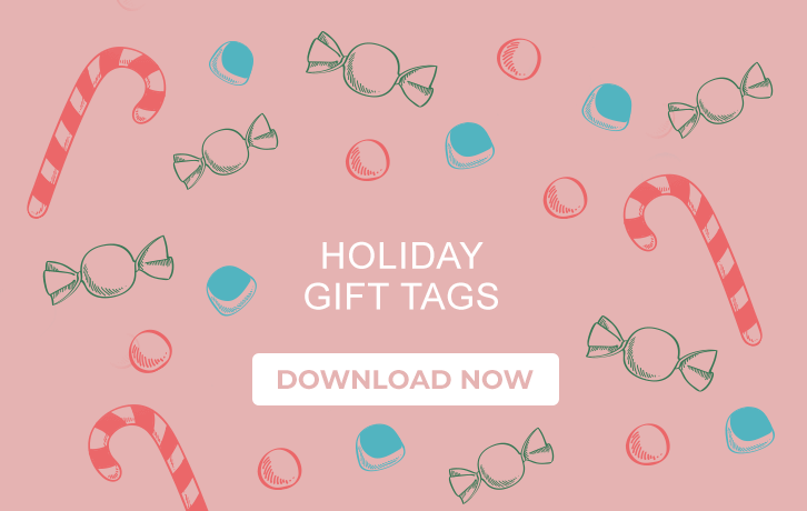 Holiday Gift Tags - Download Now