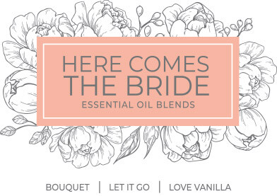Here Comes The Bride Essential Oil Sets