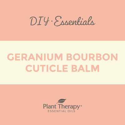 Geranium Bourbon Cuticle Balm