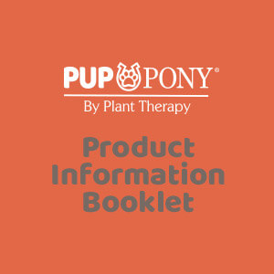 Pup & Pony Product Information Booklet