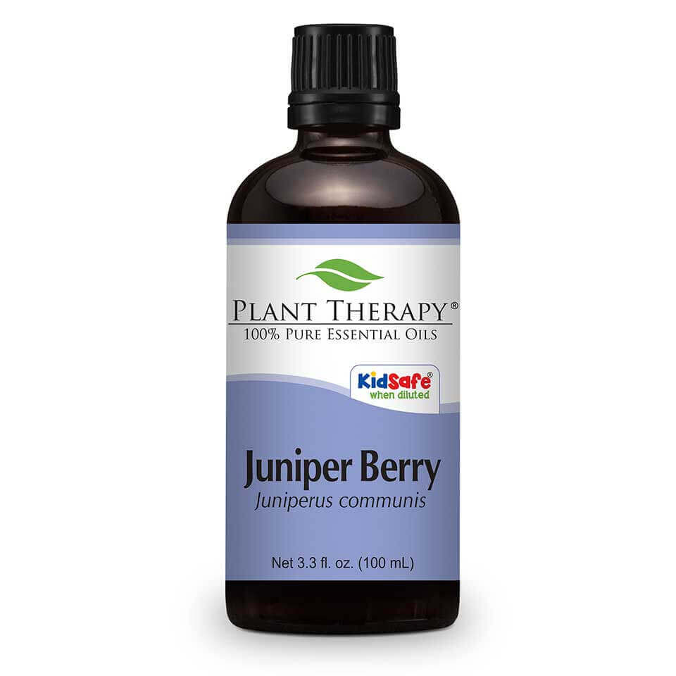 Juniper Berry Essential Oil 100 mL Juniper Berry, famously known as the berry from which the alcoholic spirit Gin is obtained, is an essential oil well-known for its  calming effects on nervous tension. Diffused into the air, it can be used as a natural purifier and is great to use during meditation.  When applied diluted to the skin, Juniper Berry produces skin warmth which may help ease the discomfort of a strenuous workout.  Diluted in carrier oil and rubbed on the legs, it can assist with feelings of congestion or tightness.