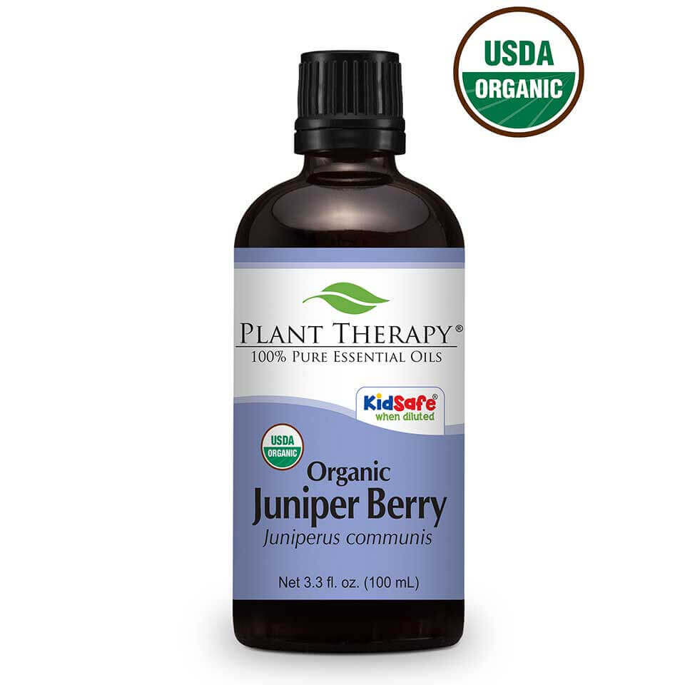 Juniper Berry Organic Essential Oil 100 mL Organic Juniper Berry essential oil is an incredible oil with a very distinct scent and is a natural purifier.  The sharp, green, woody, conifer scent can help soothe nervous tension and is ideal for personal meditation when  added to a diffuser or personal inhaler. When applied topically, it can produce a warming sensation making it a  great choice to use on achy muscles after a strenuous workout. Use it after a long day on your feet in a foot  bath for a refreshing treat to your feet. Whether being diffused or applied topically, Organic Juniper Berry  essential oil is a favorite amongst oil users for its amazing smell and therapeutic properties.