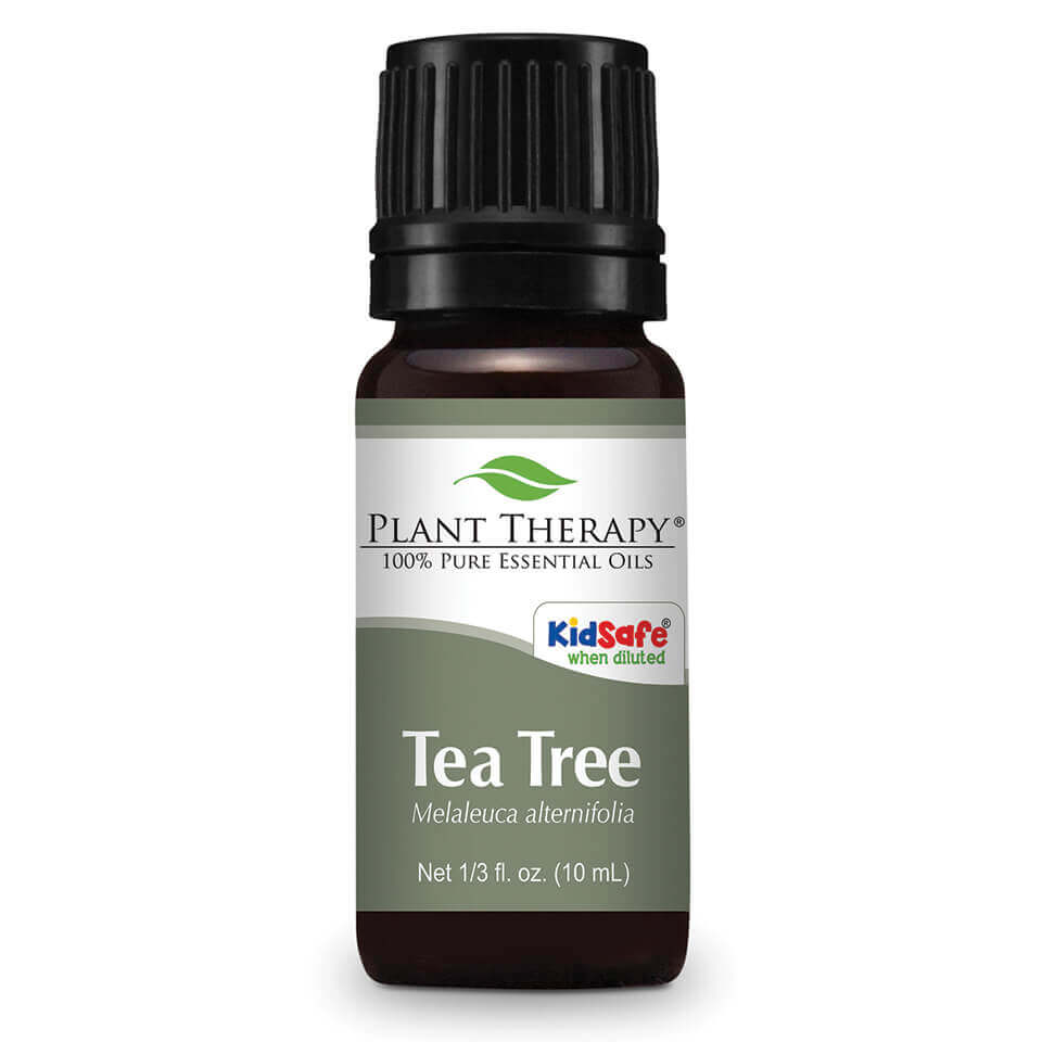 Instructions for the use of tea tree oil for problems with skin