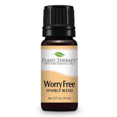 Worry Free Synergy Essential Oil Anxiety Stress Relief