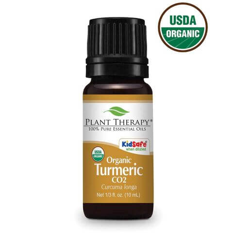 Turmeric CO2 Extract Organic Oil 10 mL