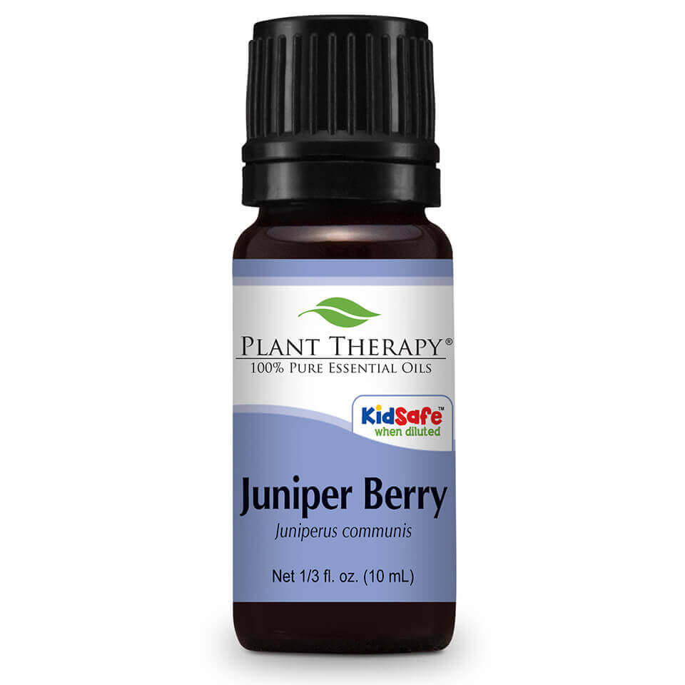 Juniper Berry Essential Oil 10 mL Juniper Berry, famously known as the berry from which the alcoholic spirit Gin is obtained, is an essential oil well-known for its  calming effects on nervous tension. Diffused into the air, it can be used as a natural purifier and is great to use during meditation.  When applied diluted to the skin, Juniper Berry produces skin warmth which may help ease the discomfort of a strenuous workout.  Diluted in carrier oil and rubbed on the legs, it can assist with feelings of congestion or tightness.