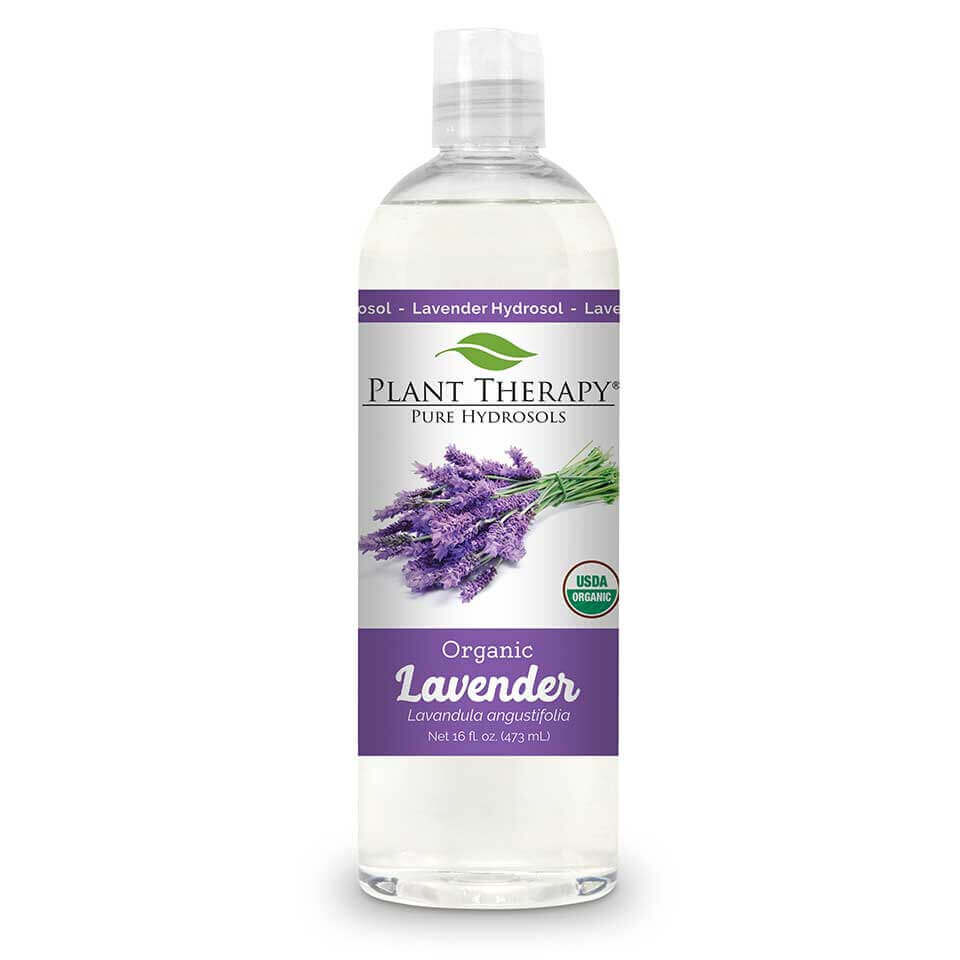 Lavender Organic Hydrosol 16 oz Distilled from the Lavender plant at the highest level of purity to ensure a 100% pure, premium hydrosol that is USDA Certified Organic.   Hydrosols are the aromatic remains after the steam-distillation process occurs. They are an excellent complement to essential oils because they are gentle enough to be used directly on the skin and can be used on children and pets   This soothing hydrosol smells like a deeper, earthier version of regular Lavender Essential Oil; like a Lavender field after the rain. Use this incredible hydrosol for skin issues,  especially on skin that has been overexposed to the sun.   Lavender Organic Hydrosol is an amazing replacement for the distilled water in a DIY lotion recipe!  This hydrosol is gentle enough to be used to soothe a baby's bottom when dealing with occasional redness in the diaper area.   For a relaxing atmosphere use Lavender Organic Hydrosol to mist linens, furniture, and pillows. Especially useful before bedtime to help unwind and relax from a busy day.