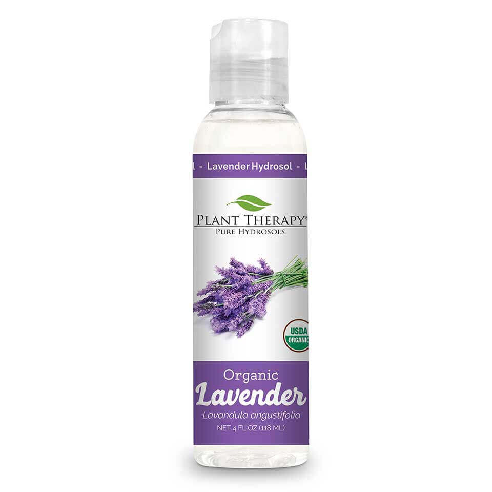 Lavender Organic Hydrosol 4 oz Distilled from the Lavender plant at the highest level of purity to ensure a 100% pure, premium hydrosol that is USDA Certified Organic.   Hydrosols are the aromatic remains after the steam-distillation process occurs. They are an excellent complement to essential oils because they are gentle enough to be used directly on the skin and can be used on children and pets   This soothing hydrosol smells like a deeper, earthier version of regular Lavender Essential Oil; like a Lavender field after the rain. Use this incredible hydrosol for skin issues,  especially on skin that has been overexposed to the sun.   Lavender Organic Hydrosol is an amazing replacement for the distilled water in a DIY lotion recipe!  This hydrosol is gentle enough to be used to soothe a baby's bottom when dealing with occasional redness in the diaper area.   For a relaxing atmosphere use Lavender Organic Hydrosol to mist linens, furniture, and pillows. Especially useful before bedtime to help unwind and relax from a busy day.