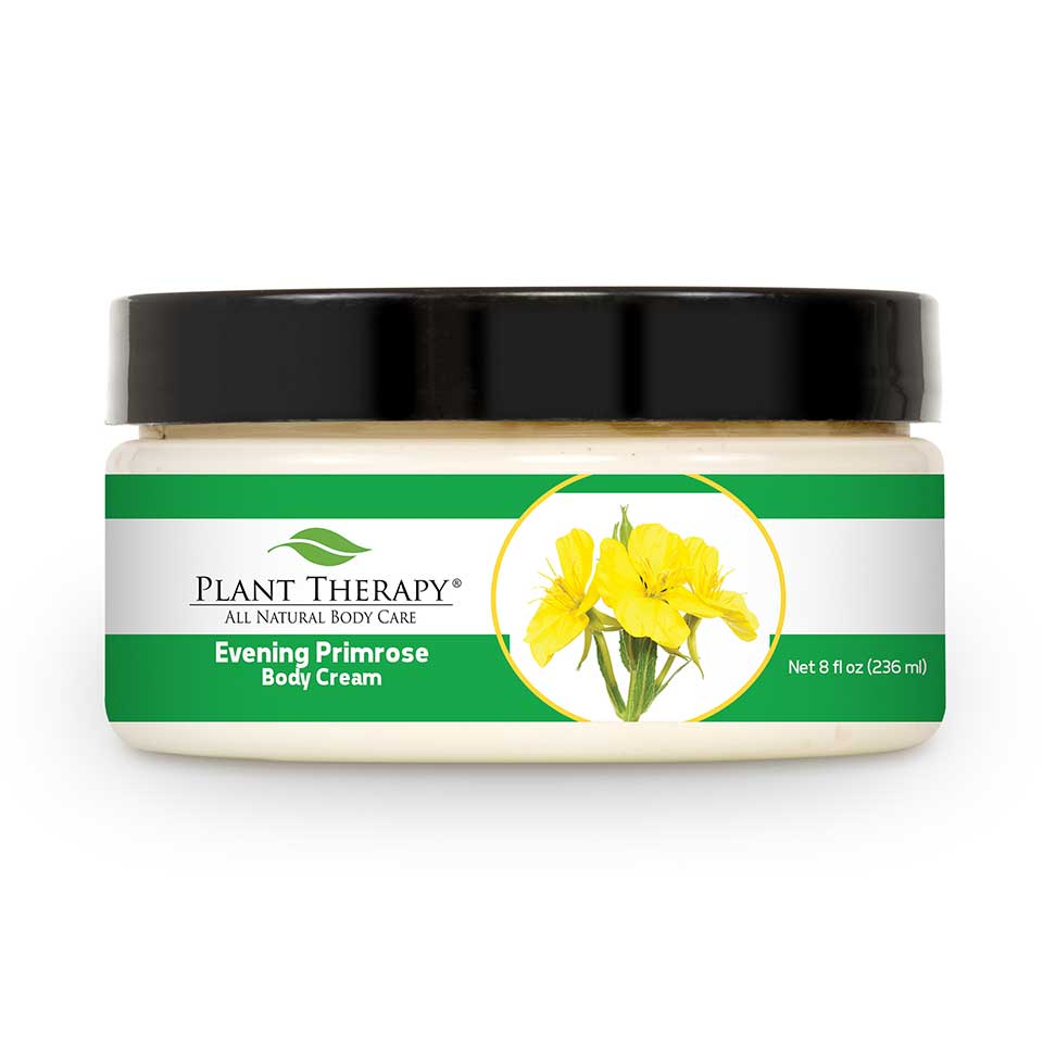 Evening Primrose Body Cream - Unscented Base 8 oz