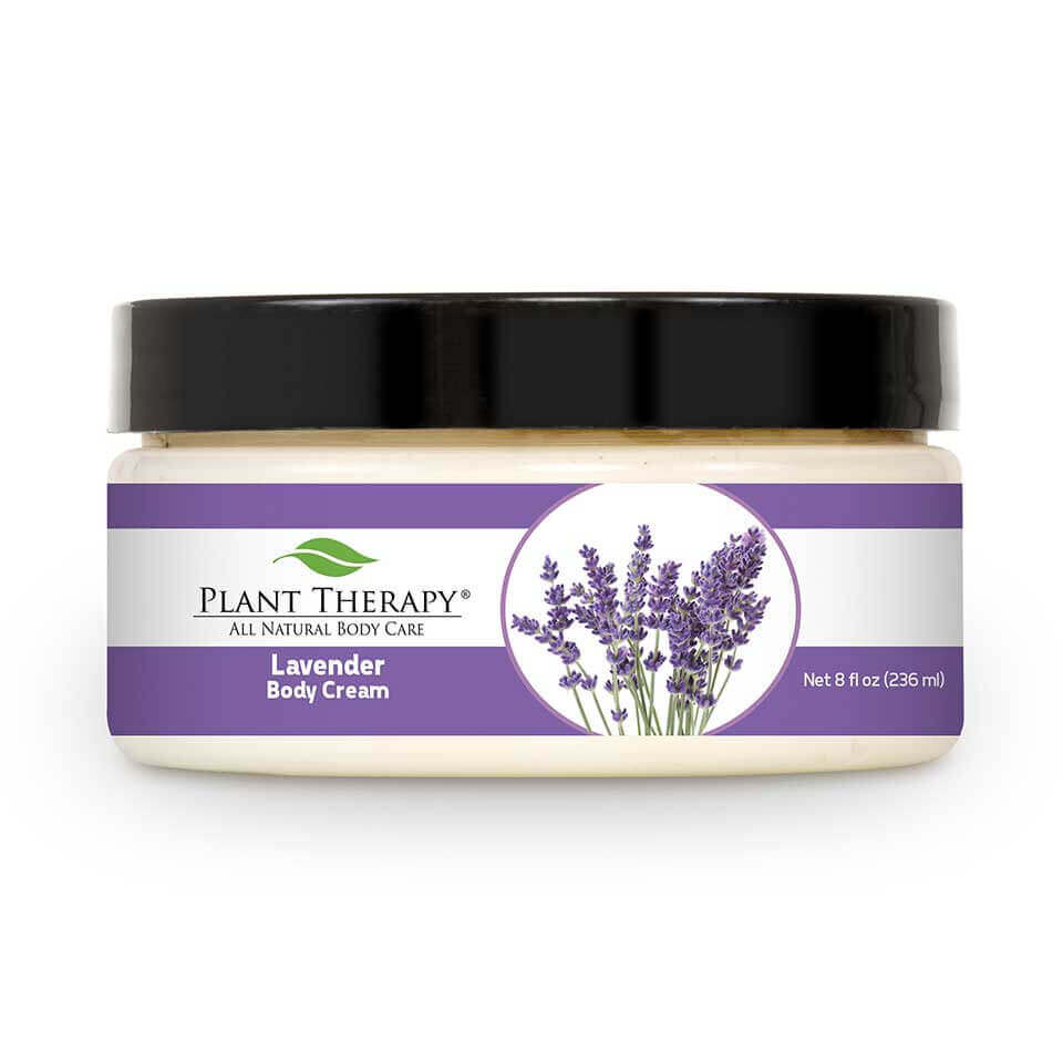 Lavender Body Cream 8 oz