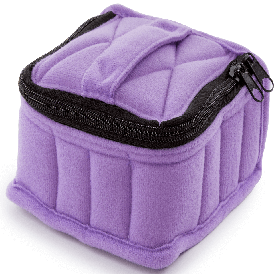 Soft Essential Oils Carrying Cases 16 Bottle (Lavender)