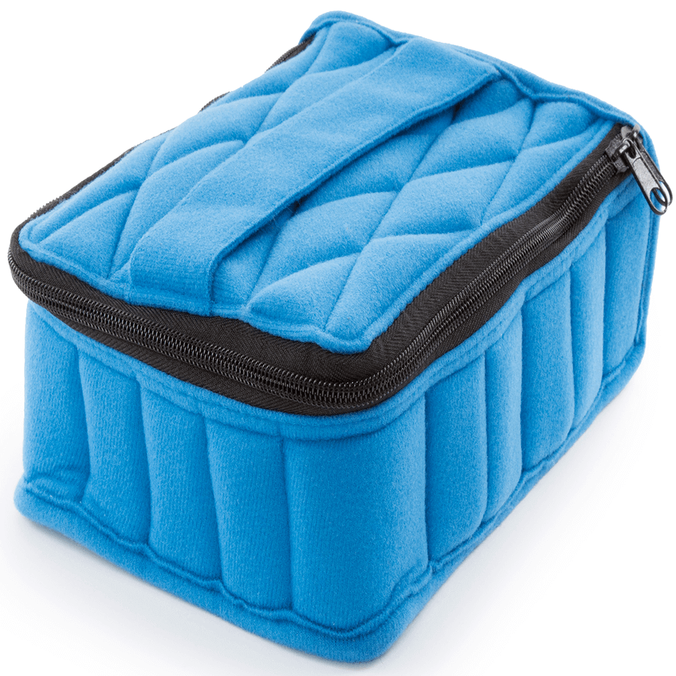 Soft Essential Oils Carrying Cases 30 Bottle (Royal Blue/Baby Blue)