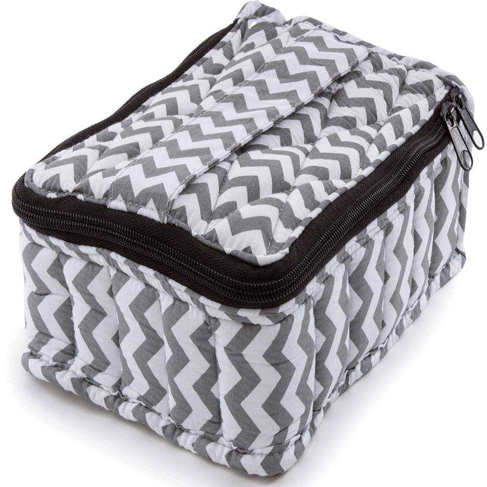 Soft Essential Oils Carrying Cases 30 Bottle (Chevron)