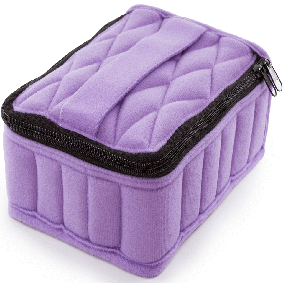 Soft Essential Oils Carrying Cases 30 Bottle (Lavender)