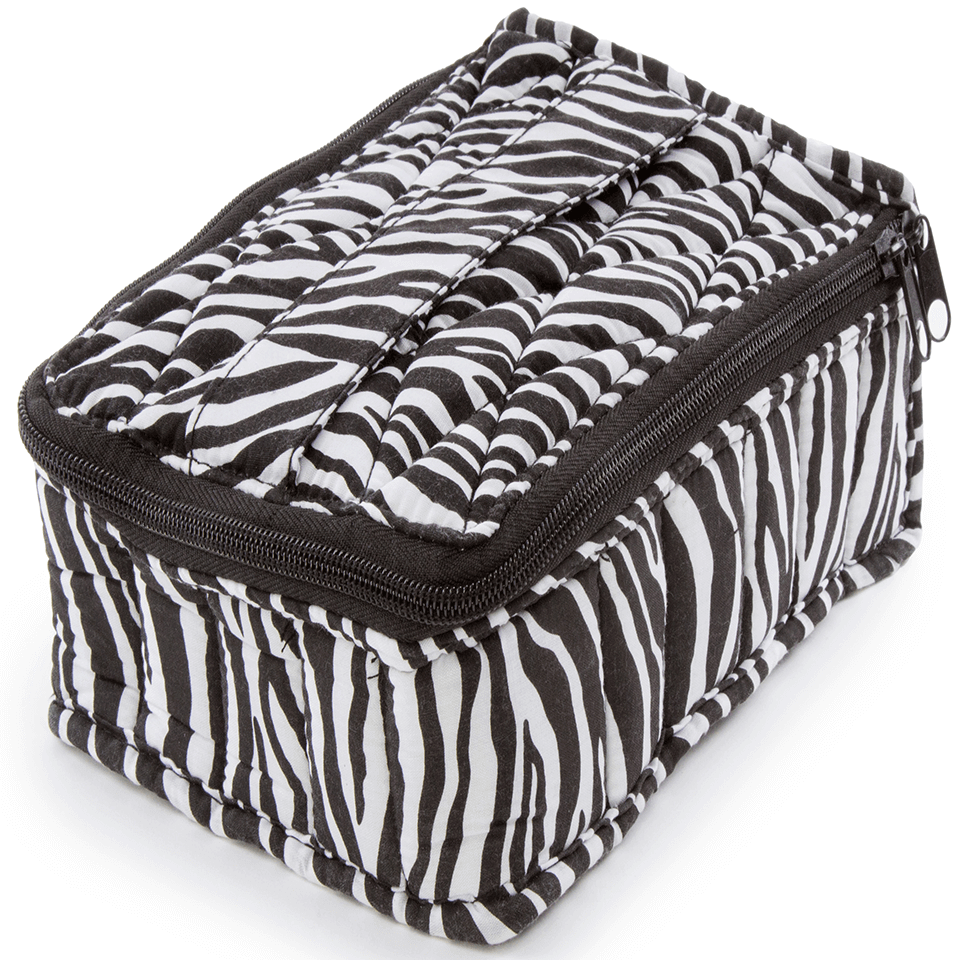 Soft Essential Oils Carrying Cases 30 Bottle (Zebra)