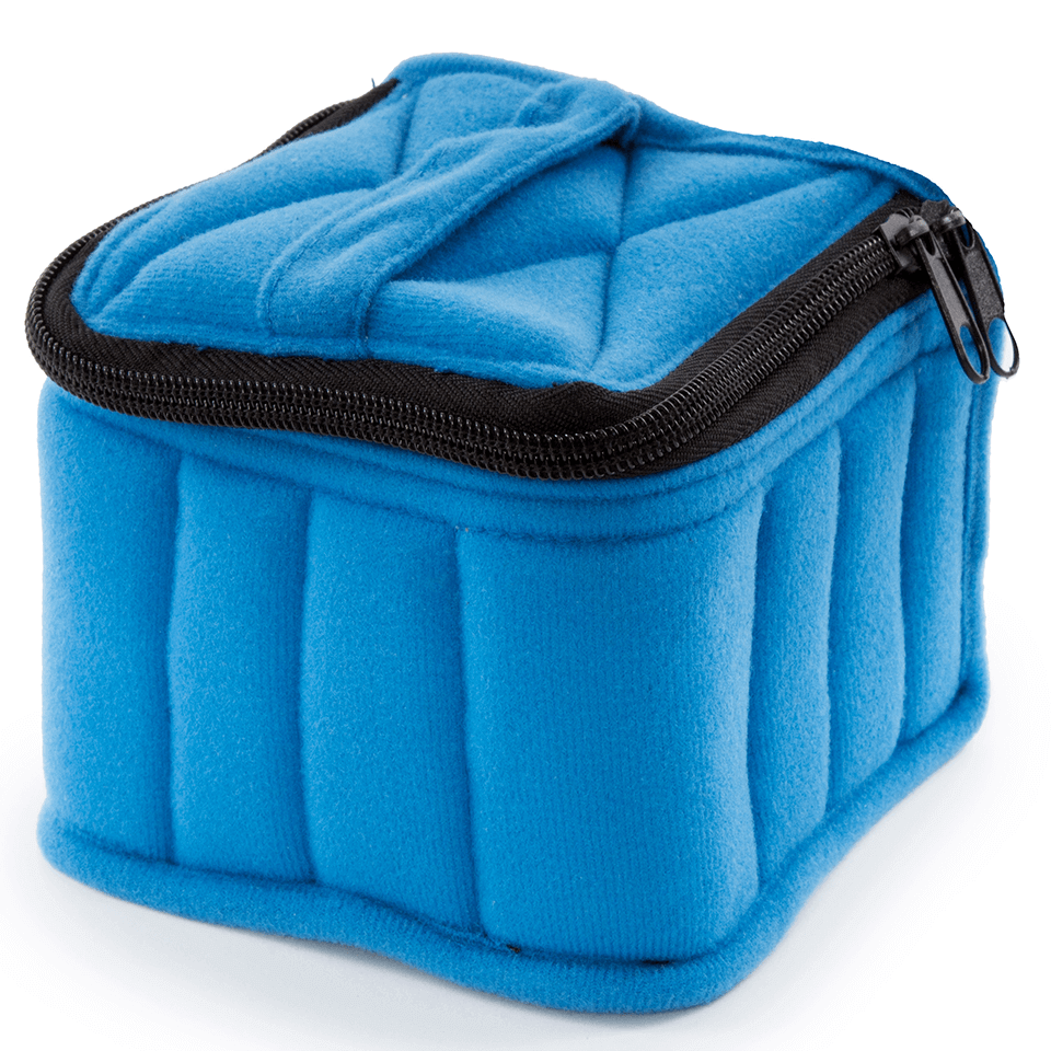 Soft Essential Oils Carrying Cases 16 Bottle (Royal Blue/Baby Blue)