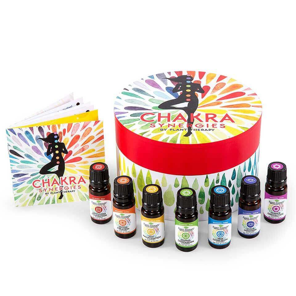 Chakra Synergies Essential Oil Set 10 mL