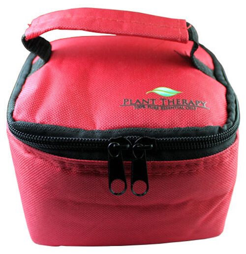 Convertible Essential Oil Case for both 10 ml (holds 25) or 30 ml (holds 16). (Red)