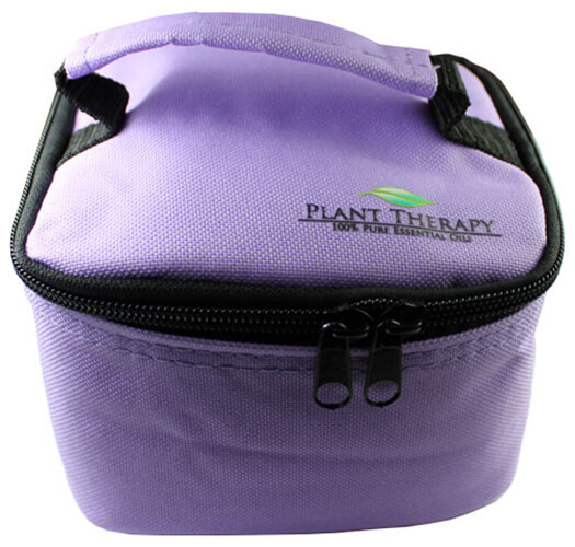 Convertible Essential Oil Case for both 10 ml (holds 25) or 30 ml (holds 16). (Purple)