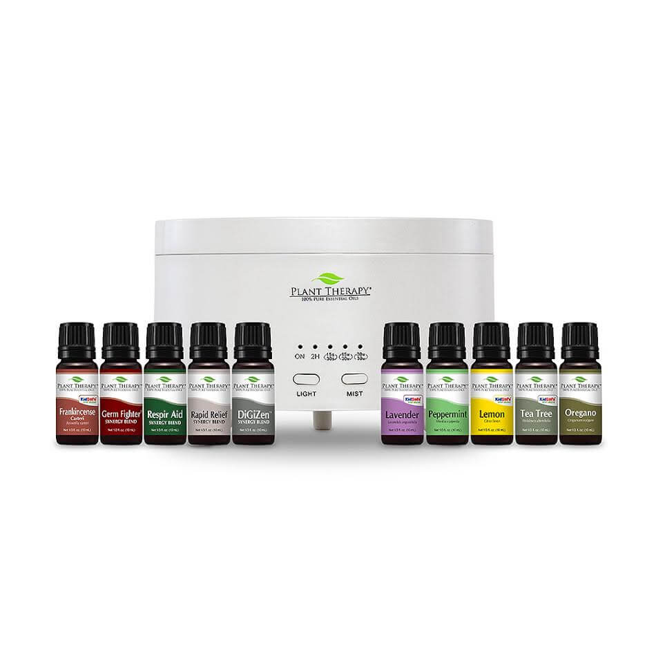 Essential Oil Starter Kit - Pearl White