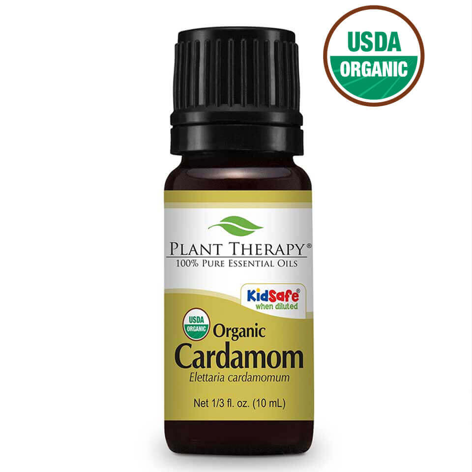 Plant Therapy Cardamom Organic Essential Oil 10 mL