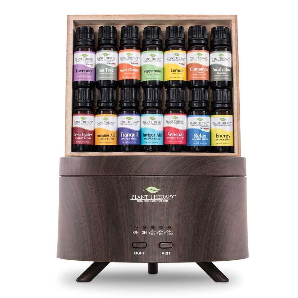 7 & 7 Aromafuse Gift Set - Wood-Grain