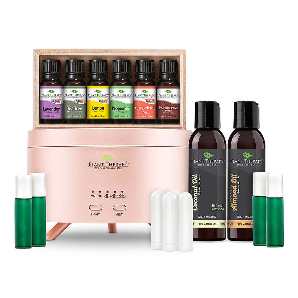Plant Therapy Essential Oil Starter Set - Rose Gold