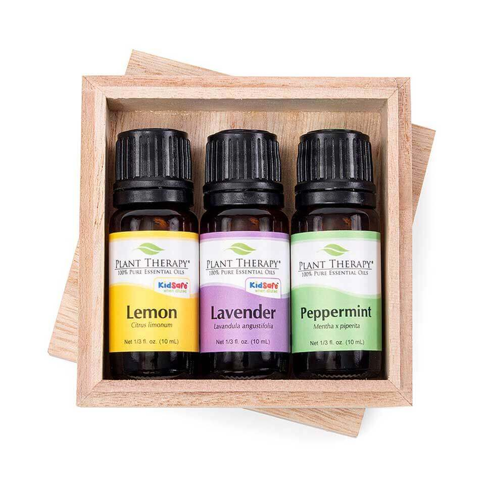 Lemon  Lavender and Peppermint