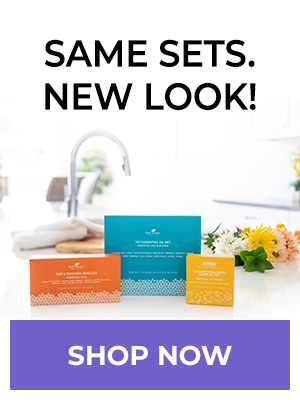 Same Sets. New Look! Shop Essential Oil Sets