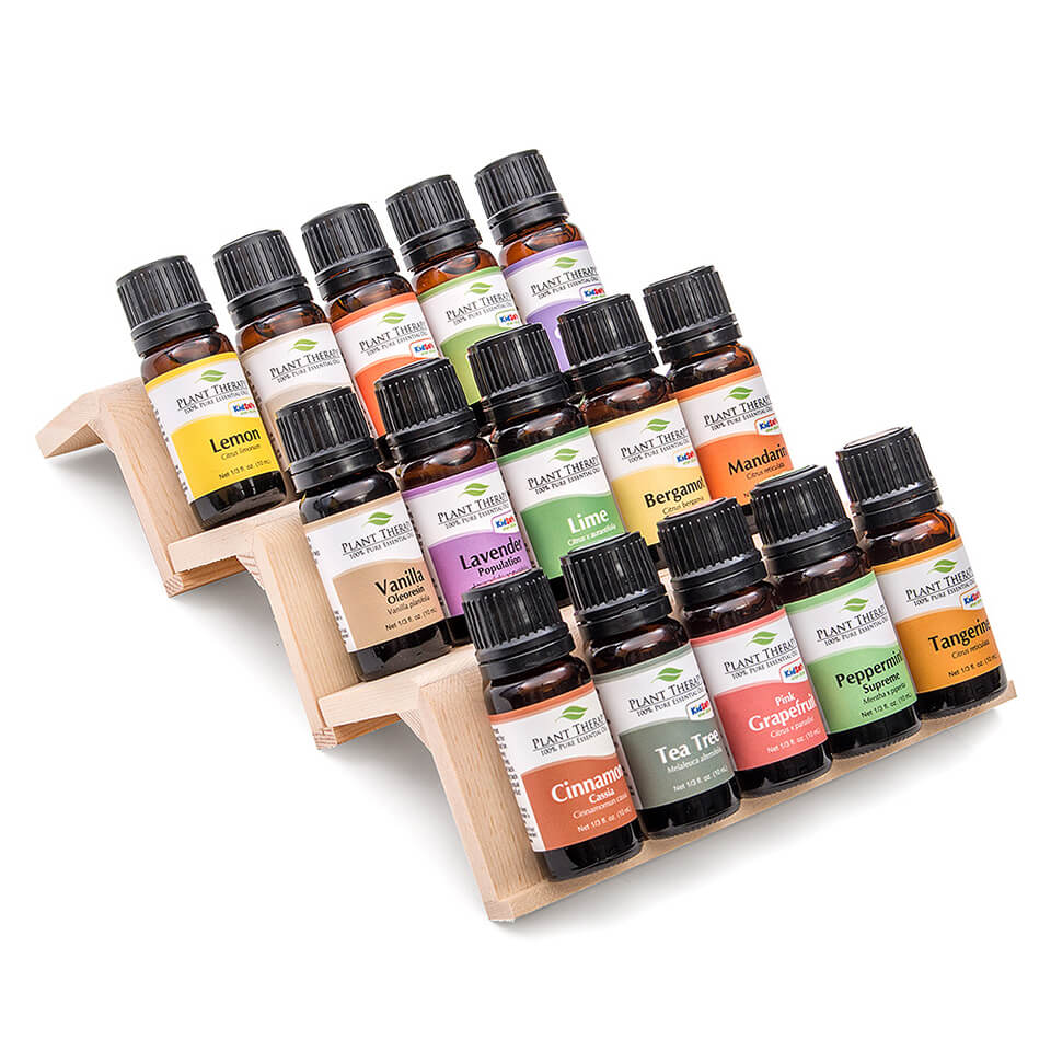 Essential Oil Wooden Storage Display Set Of 3 Essential