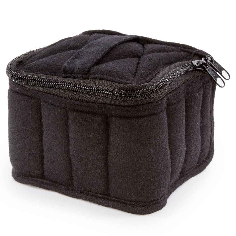 Soft Essential Oils Carrying Cases 16 Bottle (Black/Light Grey)