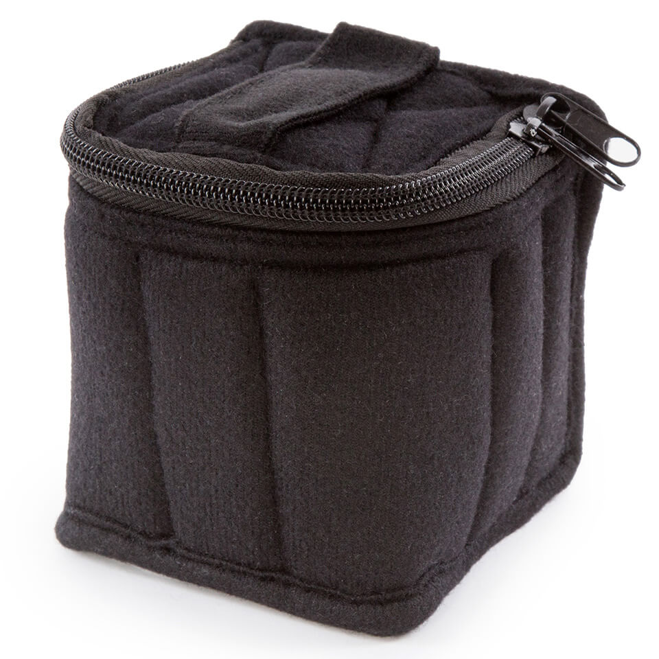 Soft Essential Oils Carrying Cases 9 Bottle (Black/Light Grey)