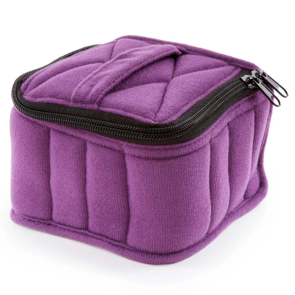Soft Essential Oils Carrying Cases 16 Bottle (Purple/Lavender)
