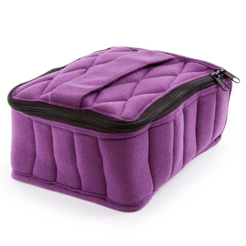 Soft Essential Oils Carrying Cases 30 Bottle (Purple/Lavender)