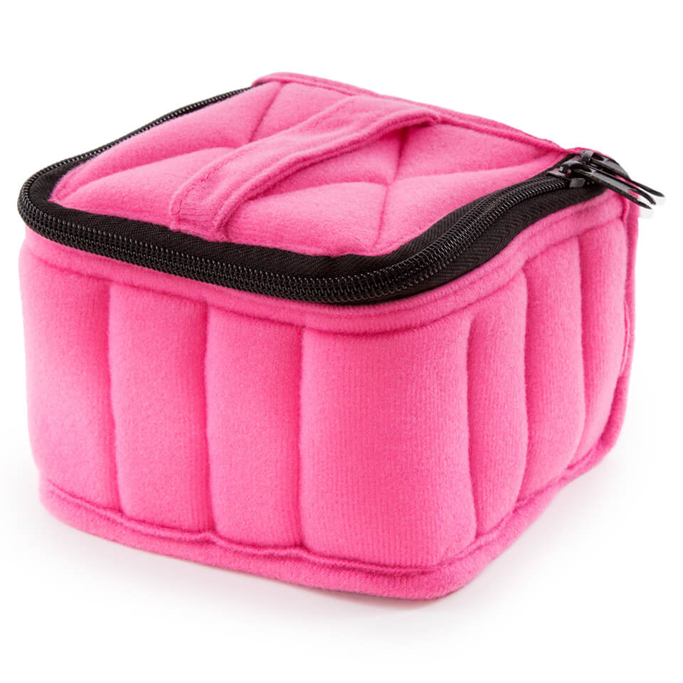 Soft Essential Oils Carrying Cases 16 Bottle (Fuchsia/Soft Pink)