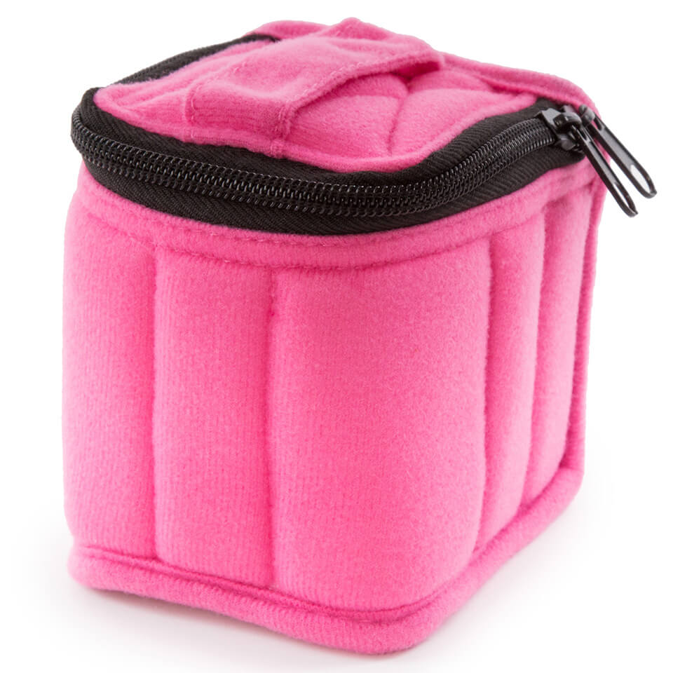 Soft Essential Oils Carrying Cases 9 Bottle (Fuchsia/Soft Pink)