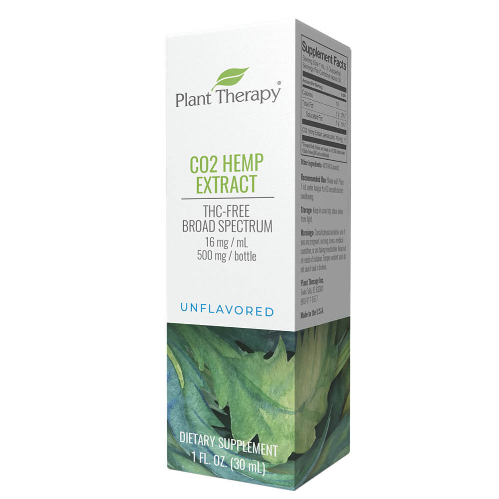 CO2 Hemp Extract Unflavored 500 mg/30 mL