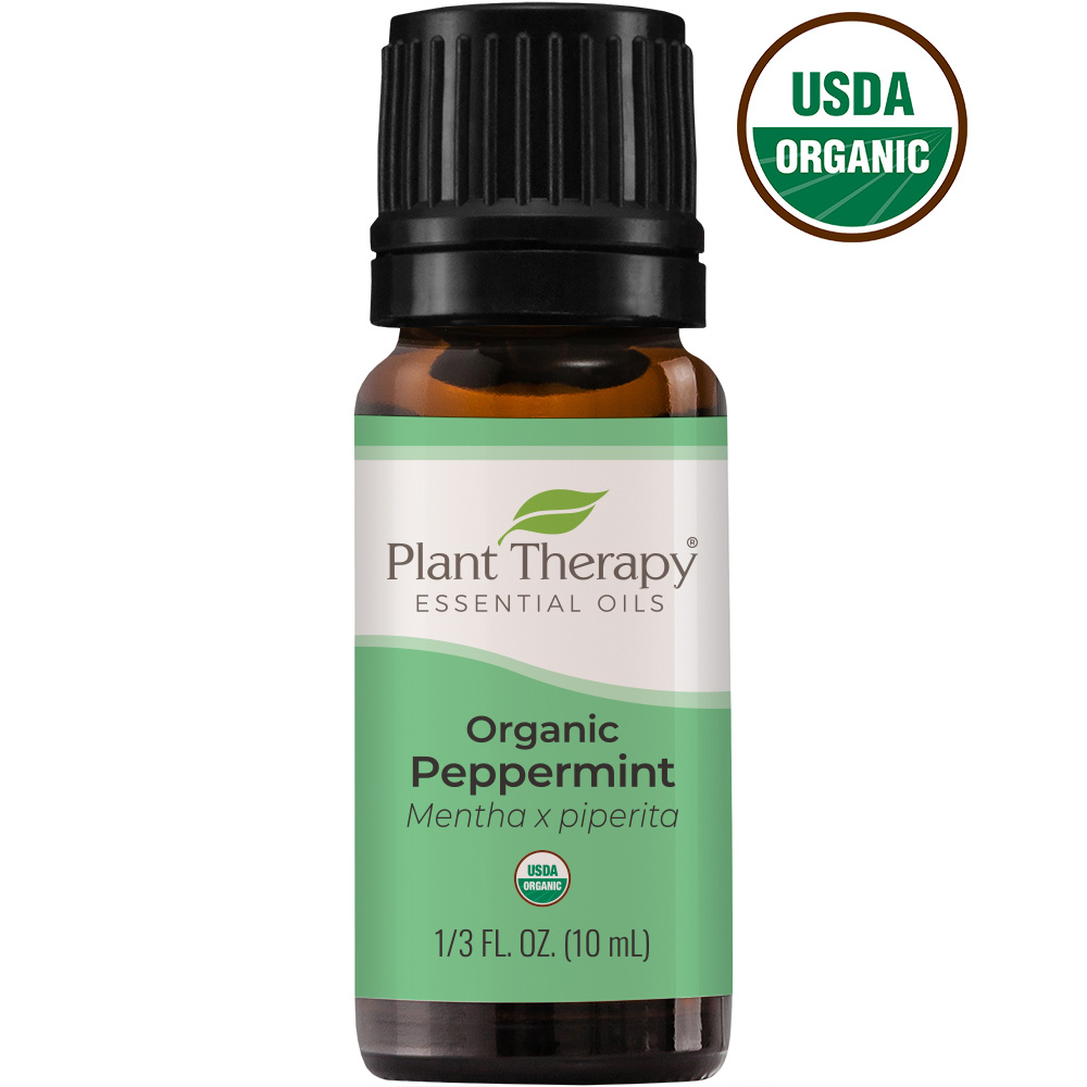 Organic Peppermint Essential Oil Plant Therapy