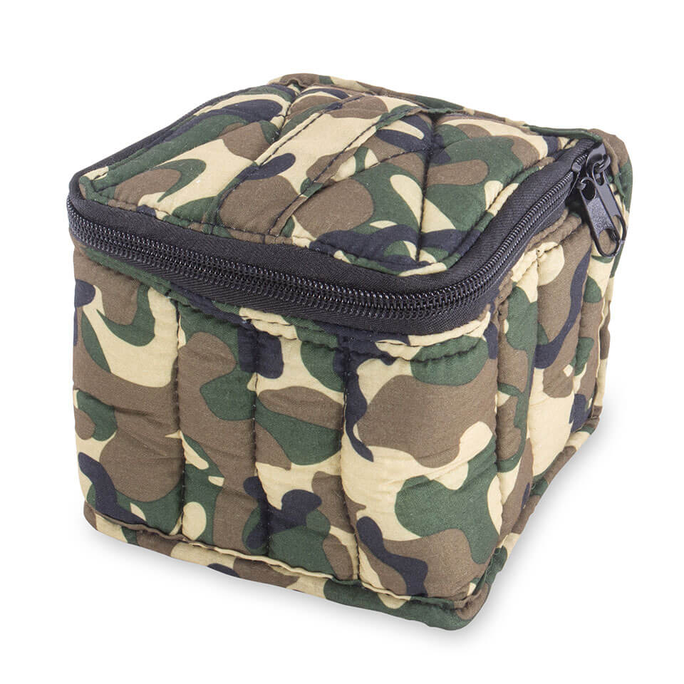 Soft Essential Oils Carrying Cases 16 bottle (Camouflage / Black)