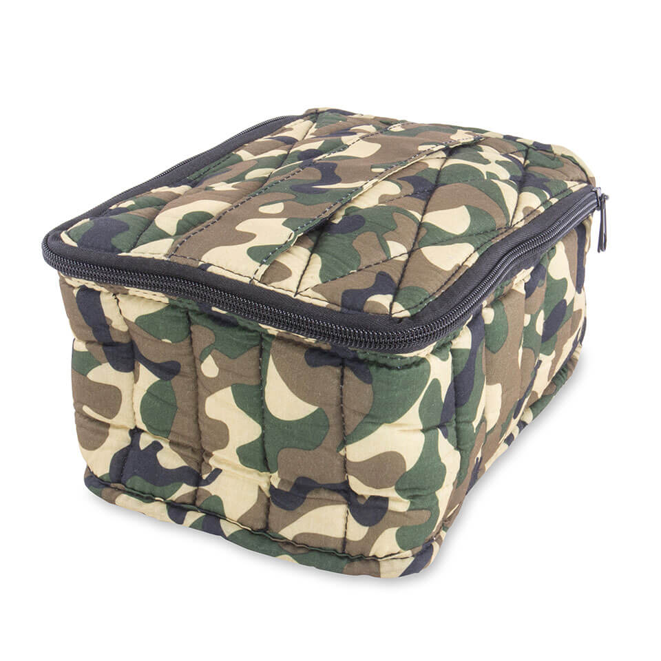 Soft Essential Oils Carrying Cases 30 bottle Camouflage / Black