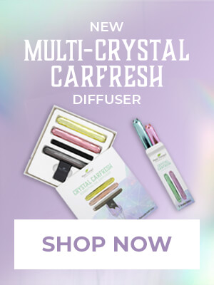 Multi Crystal Car Fresh Diffuser