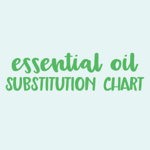 Subsution Chart S Products Top 20 Oils For Sleep